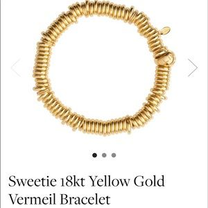 Jewelry - Links Of London Yellow Gold Vermeil Bracelet 18kt